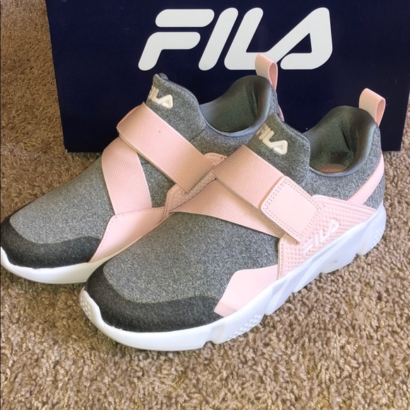 Fila Sneakers Sports Style Gray Pink